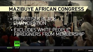 Not black enough? S. African party calls for banning whites and foreigners from becoming members - RUSSIATODAY