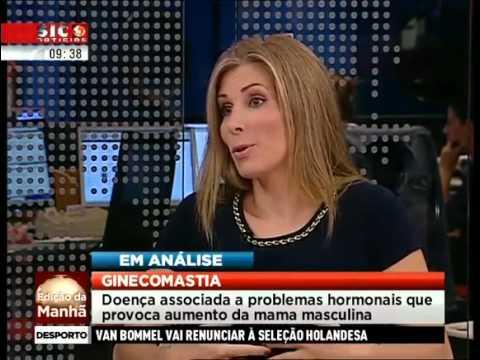 Ginecomastia em análise com a Dra. Luísa Magalhães Ramos - SIC Notícias