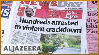 🇿🇼 Zimbabwe accused of violent crackdown on protests l Al Jazeera English - ALJAZEERAENGLISH