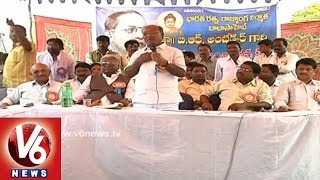 Kaka Venkataswamy Speech in  B R Ambedkar Jayanthi at Karimnagar - V6NEWSTELUGU
