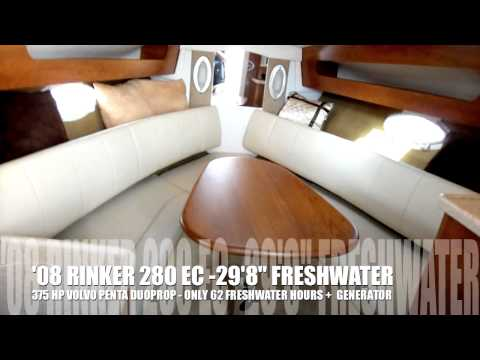 2008 Rinker 280 EC - FRESHWATER BOAT 63 HRS BOATS INTERNATIONAL boatsde2 18 ...