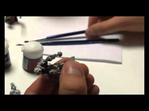 Как красить миниатюры Warhammer?