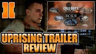 """BO2 - """"Uprising DLC Map Pack Trailer First Look"""" (Black Ops 2 Gameplay Studio / Firing Range)"""