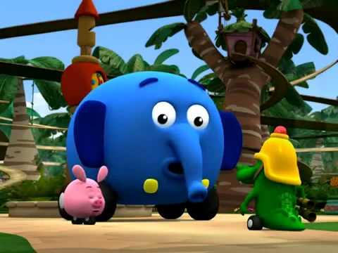Przystanek Dżungla - Mali strażacy - oglądaj w Disney Junior!
