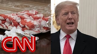 Trump caters fast food for Clemson Tigers - CNN