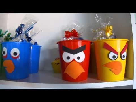 Dicas de decoração de festa infantil tema Angry Birds