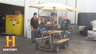 Counting Cars: Bonus: Mike's Picnic Table | History - HISTORYCHANNEL