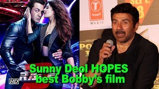 """Sunny Deol HOPES Bobby's """"Race 3"""" blessed with historical success - IANSINDIA"""