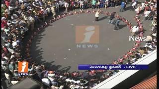 Ganesh Immersion Grand Celebrations At Tank Bund | Live Updates | iNews - INEWS