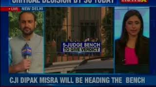Aadhar verdict: Supreme Court to give verdict on Aadhar linking issue today - NEWSXLIVE