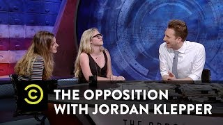 Carly Novell & Delaney Tarr - Reforming Gun Laws with #NeverAgain - The Opposition w/ Jordan Klepper - COMEDYCENTRAL