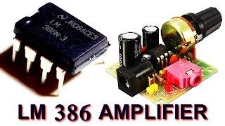 Circuito integrado amplificador LM386