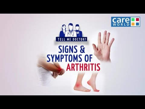 Signs & Symptoms Of Arthritis - Dr. Mahesh Kuwelker - Tell Me Doctor