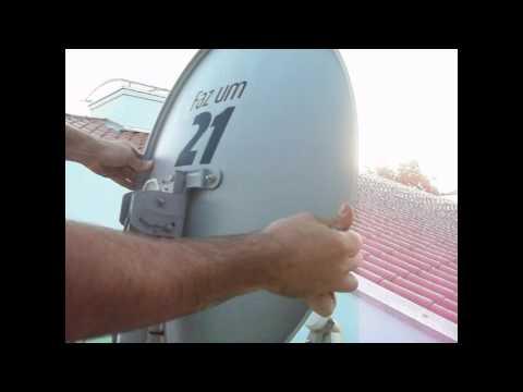 Apontamento Satmex 6: Como apontar antena para o Satelite Satmex 6 133 w
