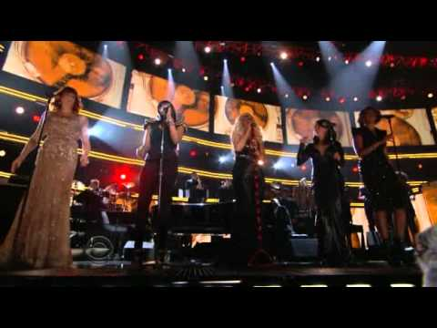 Grammy 2011 - Tribute to Aretha Franklin