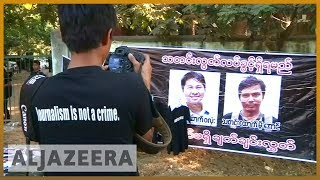 🇲🇲 Reuters journalists investigating Rohingya deaths to face trial | Al Jazeera English - ALJAZEERAENGLISH