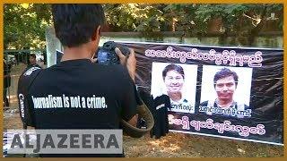 🇲🇲 Reuters journalists investigating Rohingya deaths to face trial | Al Jazeera English - ALJAZEERAENGLISH