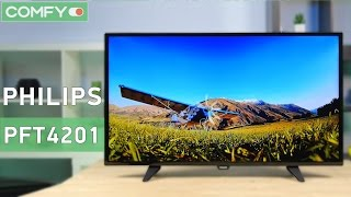 Philips 40PFT4201/12 - FullHD телевизор с привлекательным дизайном - Видео демонстрация