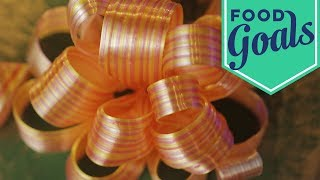 Sugar-Pulled Candy Ribbon Bows | Food Network - FOODNETWORKTV
