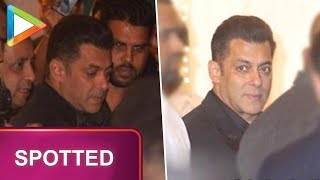 Superstar Salman Khan arrives in style at Isha Ambani- Anand Piramal's grand Wedding Celebrations - HUNGAMA