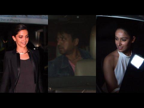 Bollywood Celebs At Special Screening Of 'Piku'