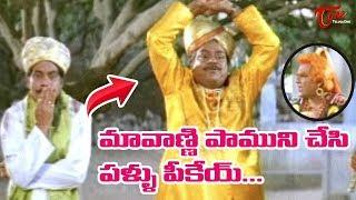 Kota Srinivasa Rao & Mallikarjuna Rao Comedy | Telugu Movie Comedy Scenes Back to Back | NavvulaTV - NAVVULATV