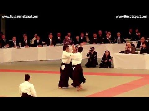 Aikido Aikikai - Kobayashi Yukimitsu Shihan 7th Dan - Nippon Budokan Kagamibiraki 2011