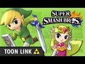 Toon Link in Super Smash Bros. Wii U / 3DS: Character Discussion, Also in A Link Between Worlds!