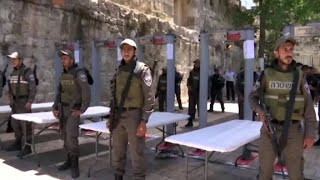 Metal detectors escalate Jerusalem tension - CNN