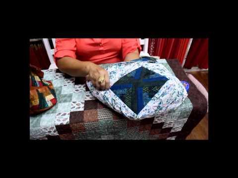Patchwork Sem Segredos com Ana Cosentino: Aula 07 (Como colocar alça, zíper e forro na bolsa)