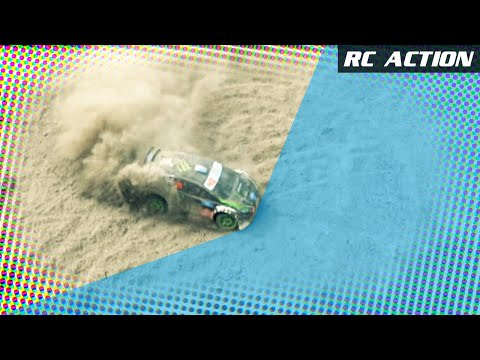 Traxxas Ken Block | Gymkhana Fiesta RC Rally - Drifting and Action