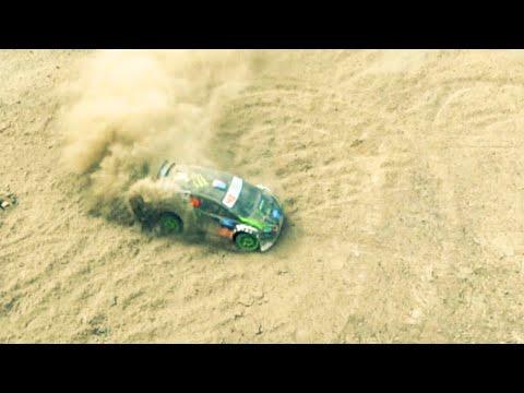 Traxxas Ken Block | Gymkhana Fiesta RC Rally - Drifting and Action