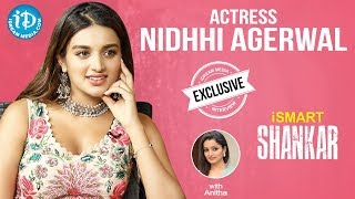 iSmart Shankar Actress Nidhhi Agerwal Exclusive Interview || Talking Movies With iDream - IDREAMMOVIES