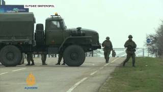 Russia approves use of armed forces in Crimea - ALJAZEERAENGLISH