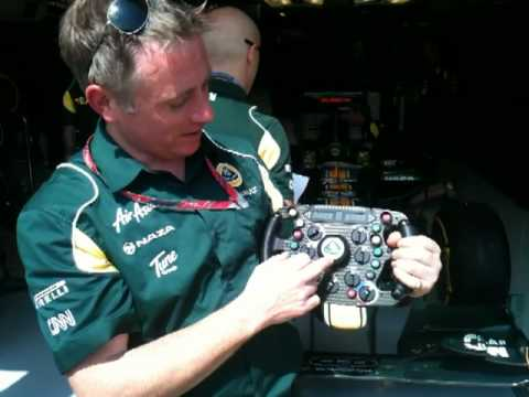 Team Lotus Paddock Tour