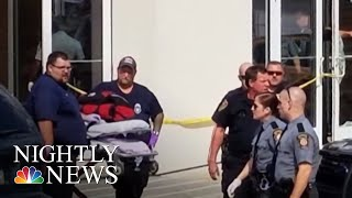 Gunman Injures 4 Outside Pennsylvania Courtroom | NBC Nightly News - NBCNEWS