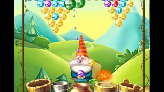 guide, tips, and cheats from Bubble and the Seven Dwarfs Level 4 in video