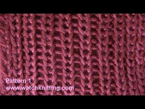 Simple Jerseys stitches- Free Knitting Patterns Tutorial - Watch Knitting - pattern 1