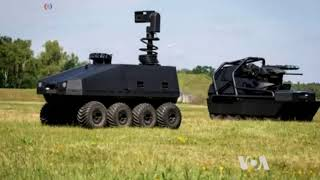 Countries Racing to Develop Warfare Robots - VOAVIDEO