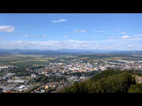 360° view from Pustý hrad