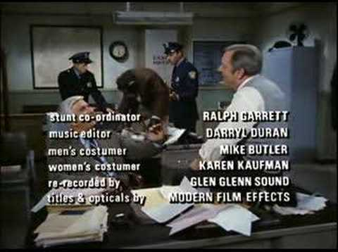 Six minutes of classic epilogues from Police Squad