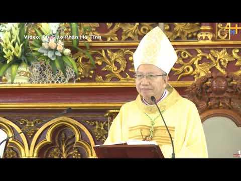 Chia sẻ của Đức Cha Phaolô Nguyễn Thái Hợp ngày nhận sứ vụ tại Gp Hà Tĩnh 23.01.2019