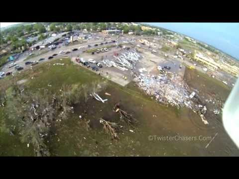 May 20 2013 Moore, OK Tornado Damage Aerial Footage ChaserCam™ Copter