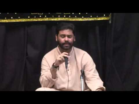 Imam Ali as Manqubat by asgher hussain Almahdi tv Anjuman e hussaini 2014