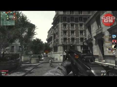 "[PARIS] Modern Warfare 3 Gameplay + MW3 Multiplayer Killstreak ""Juggernault""!"