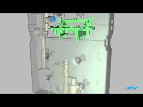 Valsir  Tropea3 Montaggio cassetta di risciacquamento meccanica