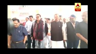 BJP MP Shatrughan Sinha and Congress leader Subodh Kant Sahay meet Lalu Yadav in hospital - ABPNEWSTV