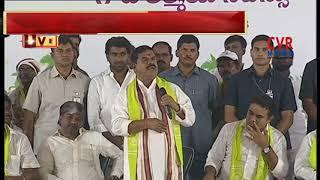 Haritha Haram in Bandlaguda | TS Council Chairman Swamy Goud speech in Haritha Haram | CVR News - CVRNEWSOFFICIAL