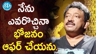 Director Ram Gopal Varma About Women Slavery At Kitchen | Ramuism 2nd Dose - IDREAMMOVIES