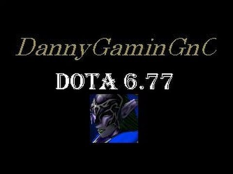 DotA 6.77 Luna (Moon Rider) Gameplay Guide, Commentary&Tips December 2012